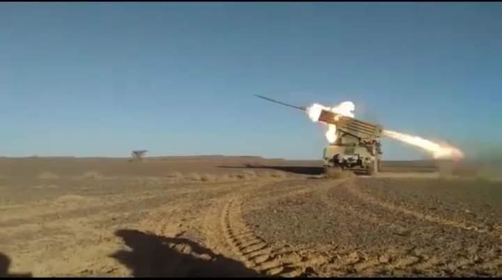 El ELPS continúa bombardeando los atrincheramientos del enemigo a lo largo del Muro de la Vergüenza | Sahara Press Service