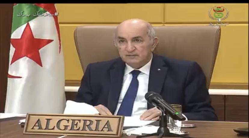 Tebboune: 'La violación del alto el fuego se debe a la obstrucción marroquí al Plan de Arreglo y sus intentos de imponer un hecho consumado»