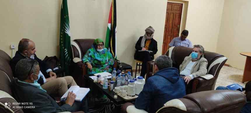 Recibe Ministra de Salud Pública a una delegación del ACNUR | Sahara Press Service