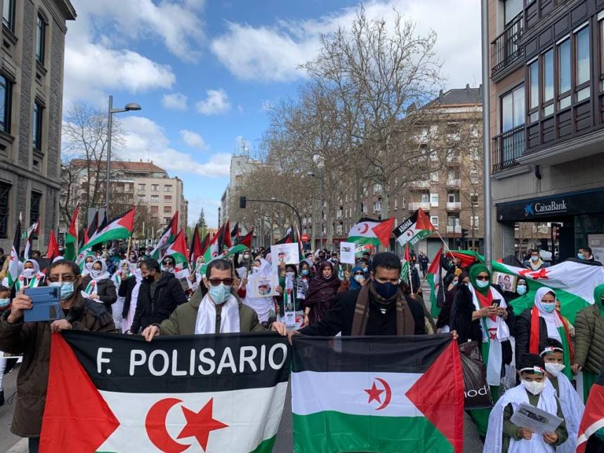 Varias manifestaciones en Europa para conmemorar el 45º aniversario de la RASD   Sahara Press Service