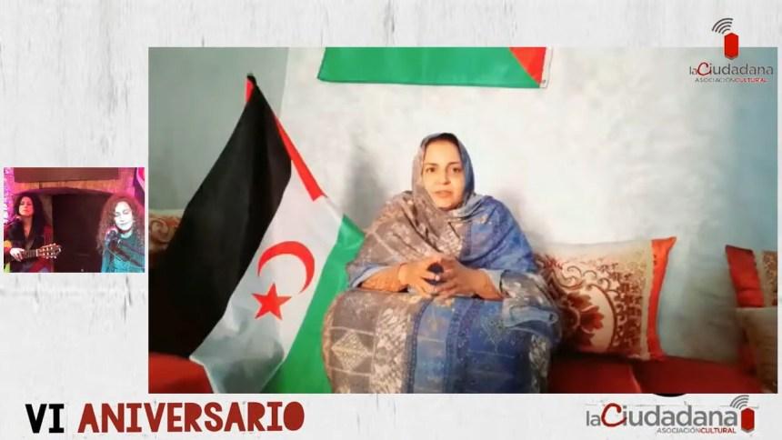 """Sultana Khaya recibe el premio de DDHH """"LA CIUDADANA"""" por su resistencia pacifica en Bojador   Sahara Press Service"""