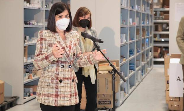 Ministra de Sanidad desde La Rioja declara sobre el ingreso hospitalario del presidente Brahim Ghali