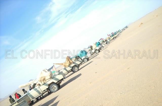 El Ejército saharaui destroza una base militar marroquí en Tandakma Al-Baida en el sector de Al Bagari