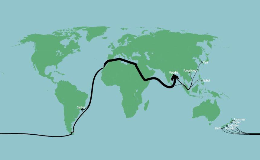 India y Nueva Zelanda se destacan como los principales importadores de roca fosfórica del Sáhara Occidental ocupado, en el informe anual más reciente de WSRW
