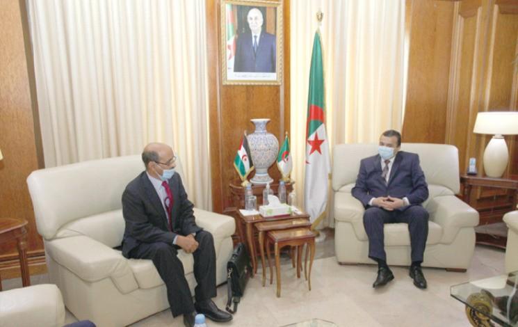 Arkab reçoit le ministre de l'Energie de la RASD : Alimenter les villes sahraouies en électricité – Nation : EL Moudjahid