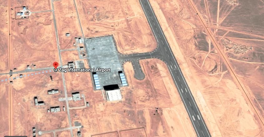Marruecos convierte un aeropuerto civil próximo a las fronteras saharaui y argelina en una base militar israelí