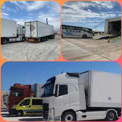 Ayer partió del puerto de Alicante hacia Oran con destino a los campamentos de refugiados saharauis la caravana de ayuda humanitaria 2021 – CEAS-Sahara