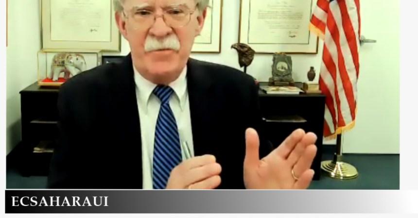 John Bolton: «El apoyo a la MINURSO debe detenerse porque es una misión inútil y no cumplió con su mandato»