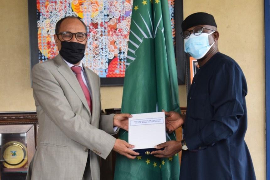 Una delegación saharaui se reúne con la Comisión de la Paz y Seguridad de la UA