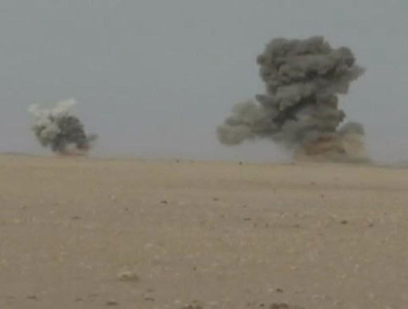GUERRA EN EL SAHARA | Parte de guerra Nº151