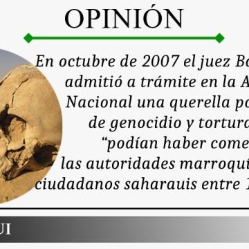 OPINIÓN   Presencia de autoridades genocidas marroquís en España, por Salmi Ould Ghailani/ECS