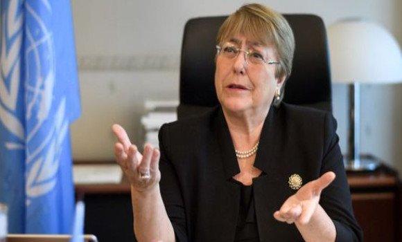 Michelle Bachelet: «Ciertas partes nos han impedido llamar la atención de la comunidad internacional sobre la situación de los derechos humanos» en el Sahara Occidental ocupado   Sahara Press Service