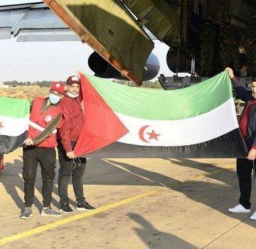 Argelia envía dos aviones militares con 70 toneladas de alimentos para los refugiados saharauis con motivo del Ramadán, con inicio previsto para el próximo martes 13 de abril