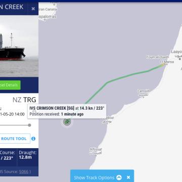 ONG de las Zonas Ocupadas condena la implicación de barcos extranjeros en el expolio de los fosfatos saharauis | Sahara Press Service