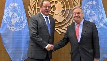 El Secretario General de la ONU se reunirá hoy con el canciller argelino: El conflicto del Sáhara Occidental, tema de conversación