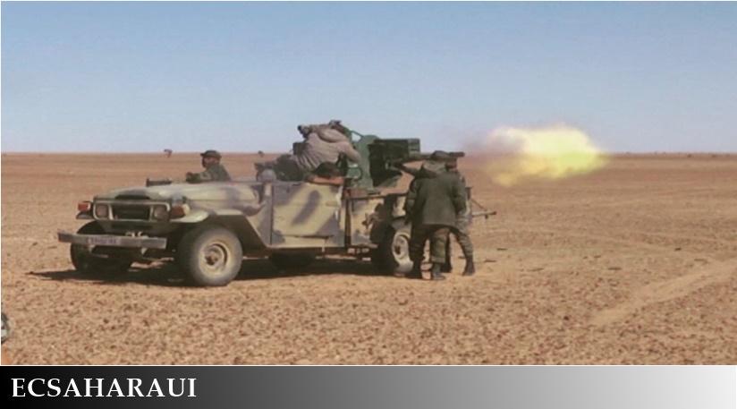GUERRA EN EL SAHARA   Parte de guerra Nº179