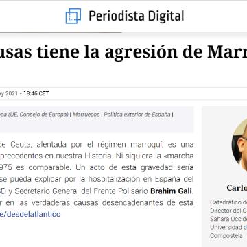 ¿Qué causas tiene la agresión de Marruecos a España? – Desde el Atlántico –CARLOS RUIZ MIGUEL