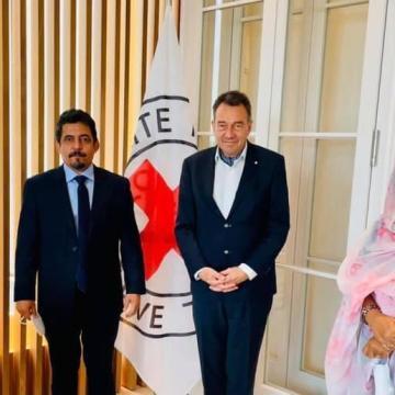 El Presidente del Comité Internacional de la Cruz Roja recibió a una delegación saharaui y expresó su deseo de implementar su mandato lo antes posible