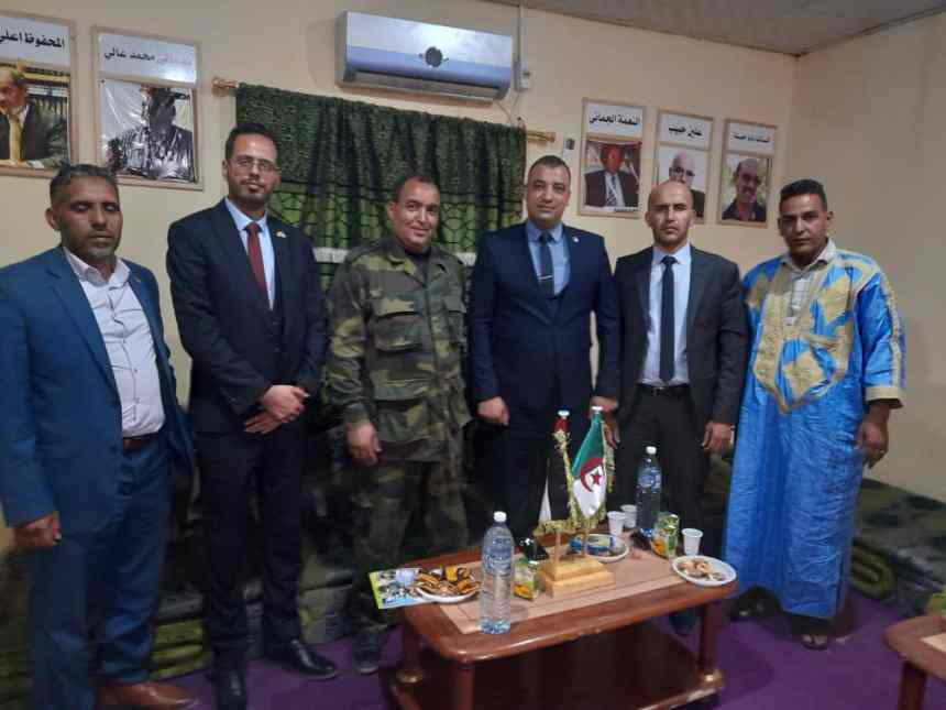 El ministro de Juventud y Deportes habla de oportunidades de capacitación de la juventud saharaui con una delegación juvenil argelina | Sahara Press Service