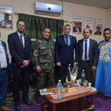 El ministro de Juventud y Deportes habla de oportunidades de capacitación de la juventud saharaui con una delegación juvenil argelina   Sahara Press Service