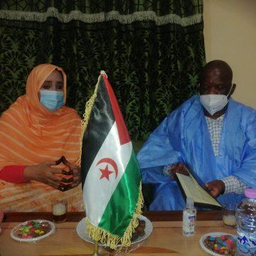 El Encargado de Negocios de la Embajada de Sudáfrica en Argelia y la RASD en visita de trabajo al Estado Saharaui | Sahara Press Service