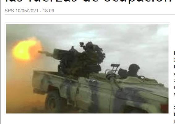 GUERRA EN EL SAHARA | Unidades del ELPS lanzan ataques concentrados contra las posiciones de las fuerzas de ocupación marroquí | Sahara Press Service