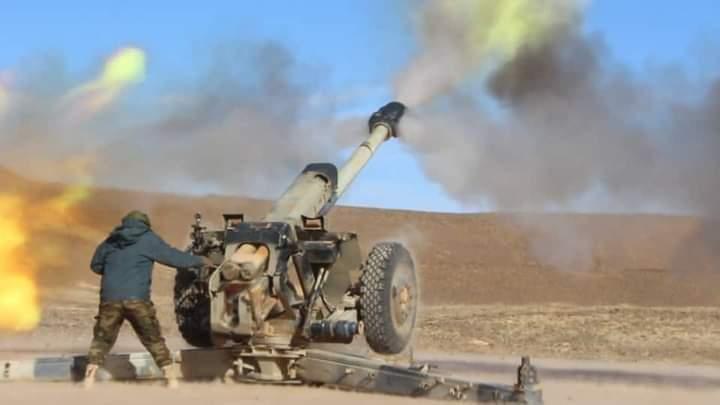 GUERRA EN EL SAHARA | Parte de guerra Nº205