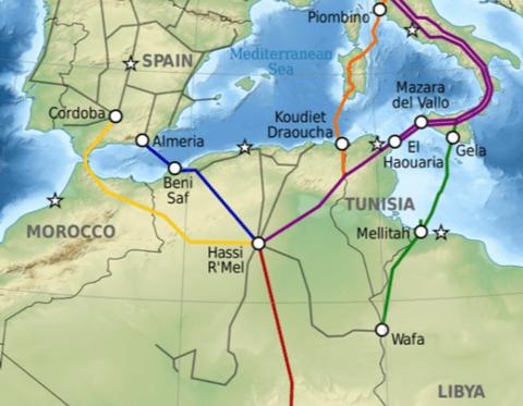 El Medgaz argelino capaz de suplir el fin del contrato «Magreb-Europa» que pasa por Marruecos