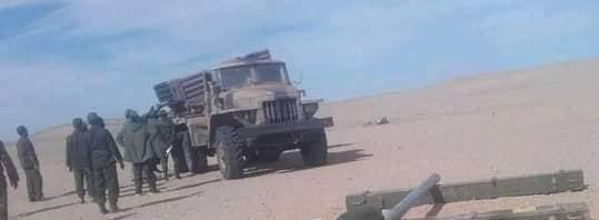 GUERRA EN EL SAHARA | Parte de guerra Nº202