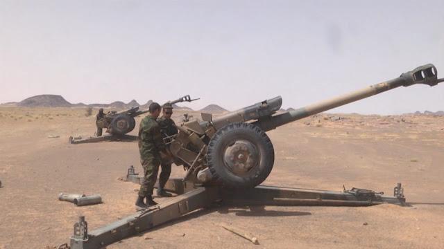 El Ejército saharaui continúa bombardeando las bases del ejército de ocupación marroquí situadas en Mahbes