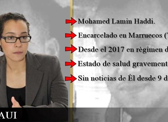"""Olfa Ouled, abogada del preso Lamin Haddi: """"¿Dónde está Mohamed Lamin Haddi? ¿con vida? o ¿lo hemos matado?"""""""