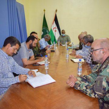 El Buró Permanente del F. POLISARIO se reúne para abordar los últimos acontecimientos relativos a la causa nacional | Sahara Press Service
