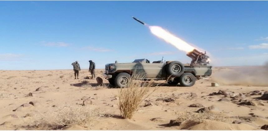GUERRA EN EL SAHARA   Parte de Guerra Nº239