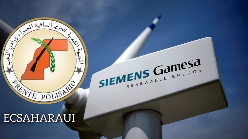 El Frente Polisario denuncia la implicación directa de Siemens Gamesa con Marruecos en actividades ilegales en el Sáhara Occidental