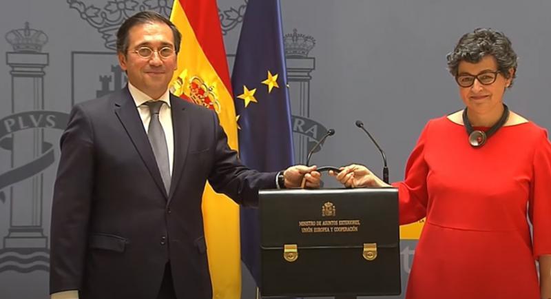En su primera declaración pública, el nuevo MINISTRO de Exteriores del Gobierno PSOE-UP, un tal Albares,halaga a Marruecos, «nuestro gran vecino y amigo del sur»
