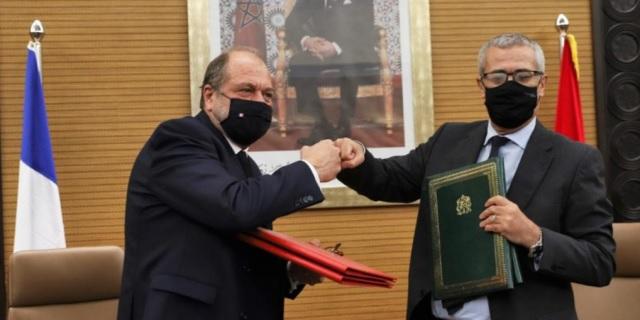 El Ministro de Justicia francés «al servicio» de Marruecos en el caso Pegasus