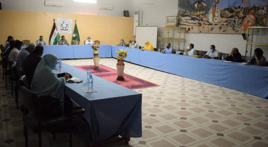 Preside Primer Ministro una reunión del gobierno para analizar varias cuestiones, especialmente la situación de la pandemia   Sahara Press Service