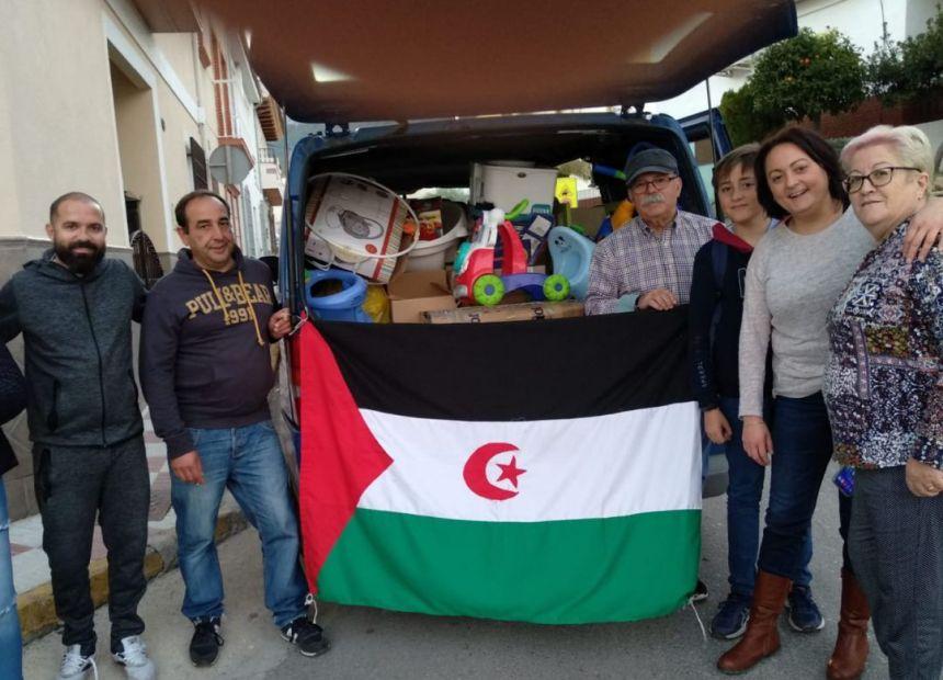 Amigos del Sáhara Libre promueve el envío de cestas de la compra al pueblo saharaui | Radio Linares | Cadena SER
