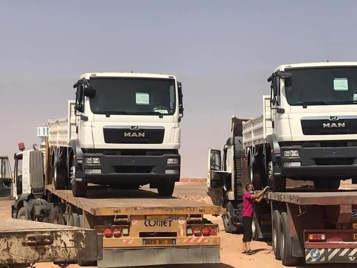 ACNUR dona cuatro camiones de transporte para los campamentos de refugiados saharauis