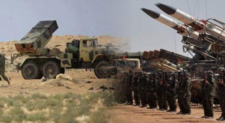 Unidades del ejército saharaui atacan bases de logística y apoyo de las fuerzas de ocupación marroquí | Sahara Press Service