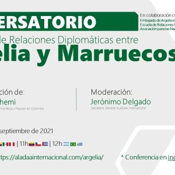 «La ruptura de las relaciones entre Argelia y Marruecos», tema central de una conferencia en la Universidad Colombiana del Externado, Bogotá
