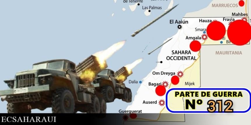 GUERRA EN EL SAHARA | Parte de Guerra Nº 312