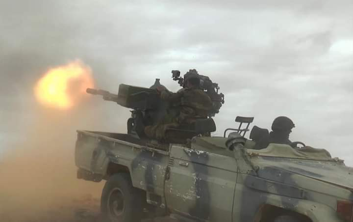 El Ejército saharaui ataca 2 bases y un punto de concentración de tropas marroquíes en el muro