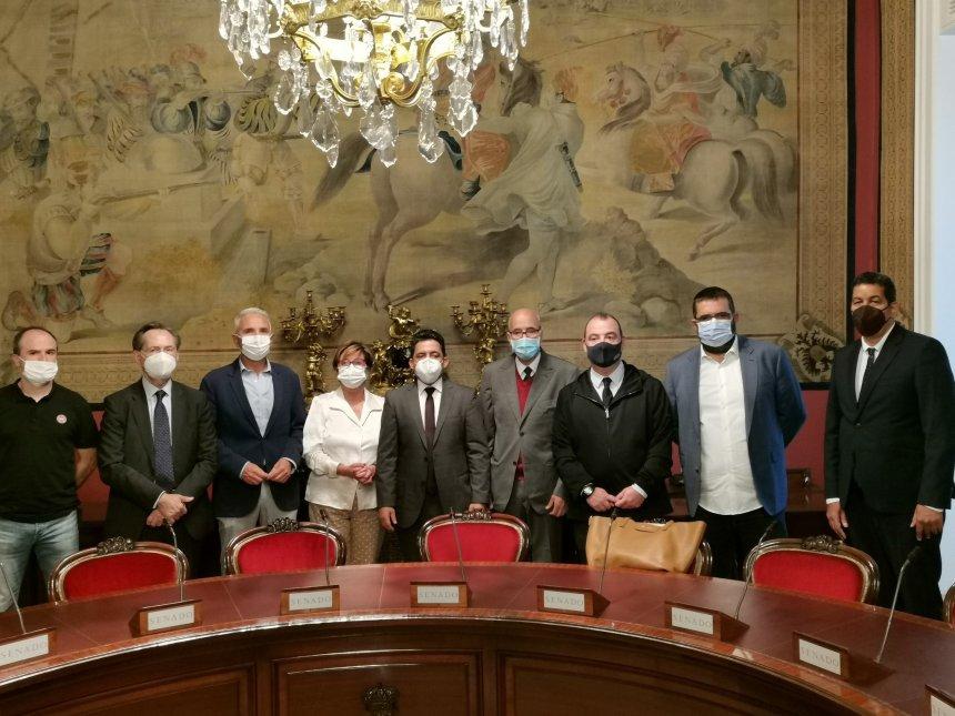 Delegación saharaui se reúne con las distintas fuerzas políticas del Senado de España (VÍDEO)   Sahara Press Service