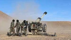 El ELPS bombardea posiciones enemigas a lo largo del muro militar marroquí   Sahara Press Service