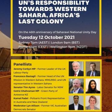 Celebran en Australia una conferencia sobre la responsabilidad de la ONU en el conflicto del Sahara Occidental   Sahara Press Service