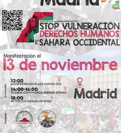 Manifestación estatal 13N – CEAS-Sahara