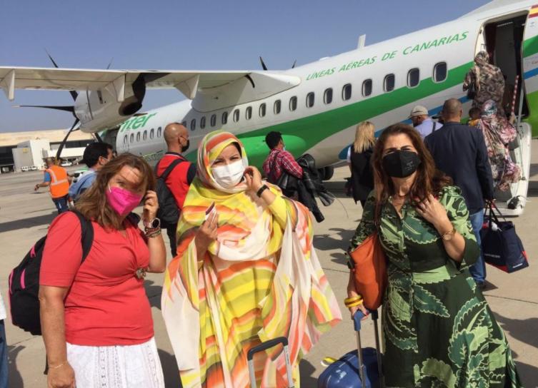 Las autoridades de ocupación marroquíes expulsan del Sáhara a tres activistas españolas | El Sahara Occidental se ha convertido en una cárcel