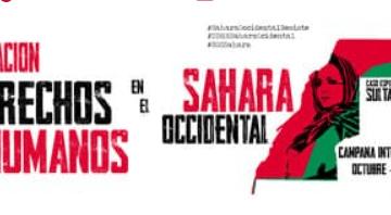 13N- en Madrid, manifestación STOP VULNERACIÓN DDHH EN EL SÁHARA OCCIDENTAL
