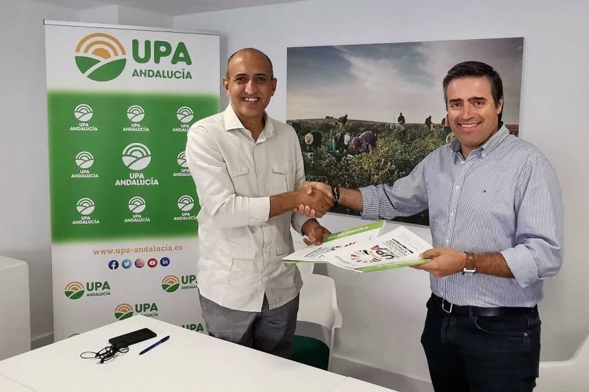 Siguiendo la sentencia del TJUE, organización agraria andaluza (UPA_Andalucia) y el Frente Polisario firman un trascendental acuerdo de colaboración | Sahara Press Service